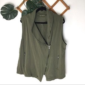 Soft Surroundings Olive Green XL Vest Tank